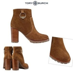 Tory Burch • Suede Plaine Boots Boots